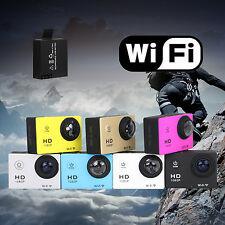 WIFI Wireless Waterproof Sports DV 1080P HD Video Action Camera Camcorder 12MP