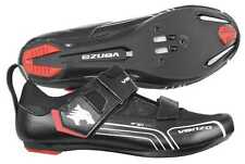 Venzo Bicycle Cycling Triathlon Shoes For Shimano SPD SL Look Black