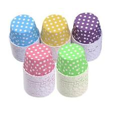 20pcs Colorful Paper Cake Cupcake Liner Case Wrapper Muffin Baking Cup Party