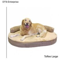 Dog Memory Foam Pet Orthopedic Bed Joint Relief Cushion Cat Fleece Mat Cozy Warm