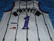 Tracy McGrady Toronto Raptors signed AUTOGRAPHED jersey COA Authentic SIGNED !!