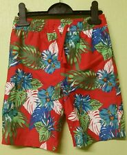 MARKS AND SPENCER M&S BOYS SWIM HOLIDAY SHORTS RED BLUE GREEN HOLIDAY BNWT