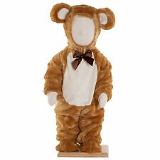 Furry Toddler Babies Teddy Bear Costume Girls Boys Brown Luxury Plush Ted Outfit