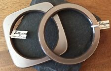 Bellissima by Moschitto, Round and Square Bangle Set, Oyster, New