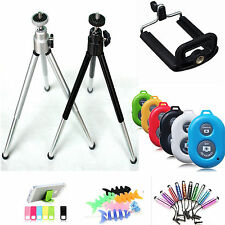 Wireless Bluetooth Remote Shutter+tripod for iPhone6s 6 5S 5C 5 4S 4 iPod Mobile