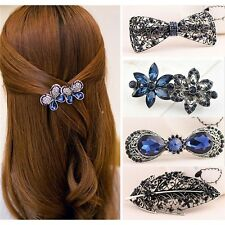 Fashion Women Lady Hair Accessory Floral Butterfly Hair Barrette Clip Hairpin