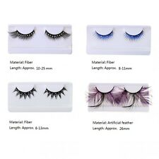 Eye Lashes False Eyelashes for Halloween Cosplay Party -Artificial Feather/Fiber