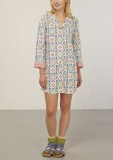 WHITE STUFF WOMENS 'SECRET FOXES' COTTON NIGHTSHIRT *AVALIABLE IN SIZES S-L* NEW
