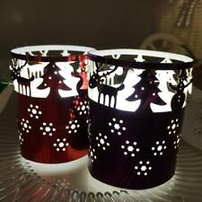 6pcs Led Tea Light Candle Holders Wedding Christmas Xmas Table Decoration
