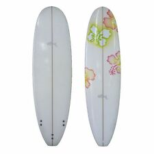 Sunride Surfboard Mal Coloured Flowers Beginners-Advanced Fun includes FCS fins