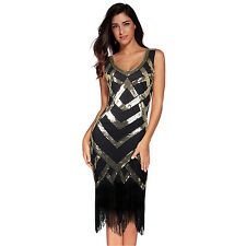 Flapper Girl 1920s Gatsby Sequin Art Deco Scalloped Hem Inspired Flapper Dress