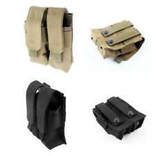 Molle Belt Tactical Military Double Magazine Mag Pouch Cartridge Clip Bag