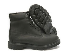 [10069] Timberland 6 Inch Basic Black Boots Mens Size 11