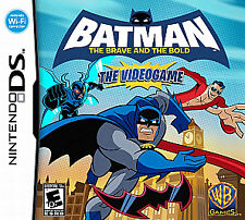 Batman: The Brave and the Bold -- The Videogame  (Nintendo DS, 2010) NEW