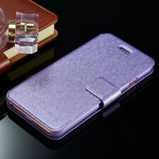Luxury Slim Wallet PU Leather Flip Cover Case For iPhone Samsung Galaxy Models