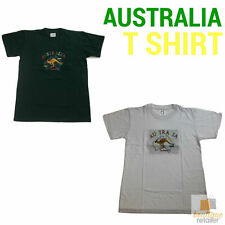 Adult AUSTRALIAN T Shirt Australia Day 100% COTTON Souvenir Tee Top KANGAROO New
