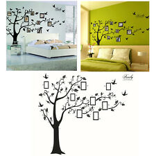 New 3D DIY Photo Tree Bird PVC Wall Decal Family Sticker Mural Art Home Decor