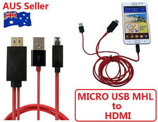 MICRO USB MHL to HDMI HDTV ADAPTER CABLE FOR HTC SERIES PHONE HTC Velocity
