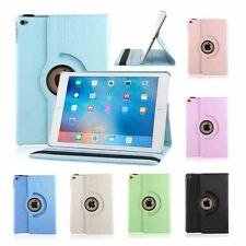 360 Rotating Leather Smart Case Covers Stand For Apple iPad 2 3 4/Air 2/MINI/PRO