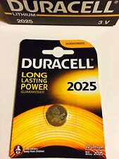 Original DURACELL DL/CR 2025 3V Lithium Coin Cell Battery EXPIRY 2025 (Choose)