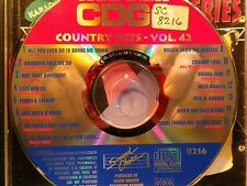 SOUND CHOICE SPOTLIGHT CDG KARAOKE SCSP8216 COUNTRY HITS VOL 42