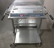 SCALE-TRONIX 4802 PEDIATRIC MEDICAL INFANT BABY STAINLESS SCALE LBS KGS + CART