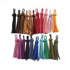 50mm Velvet Ring Tassel Pendant Charms for Bag Keychain Crafts Decor