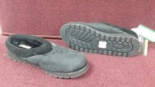 New Womens Skechers Bobs 33974 Black Mule Clog Winter Shoes (J266)