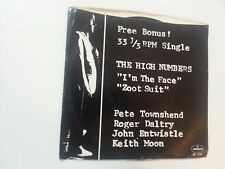 """THE WHO - THE HIGH NUMBERS i'm the face/zoot suit PROMO 7"""""""