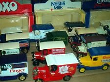 LLEDO DIE-CAST DELIVERY VANS 1960/90 ~ click SELECT to browse or order