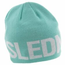 New with Tags! Slednecks Ladies Biggie Smalls 100% Polyester Fleece Lined Beanie