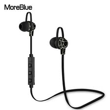 Wireless Bluetooth Earphones Sport Headset Super Bass Stereo Earbuds With Mic