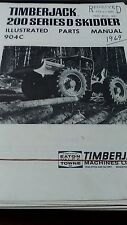 TimberJack 200 Series D Skidder Parts Manual 904C
