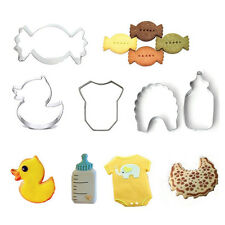 Stainless Steel Cookie Cutter Biscuit Party Fondant Cake Mold Baby Christmas