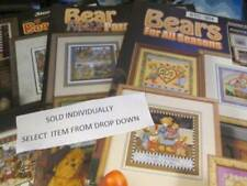 Teddy Bear Cross Stitch Booklet Your Choice-Stoney Creek OR Leisure Arts