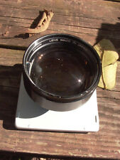 Canon 125mm F:3.5 m39 LTM lens on a  Graflex Speed Graphic or Pacemaker Series B