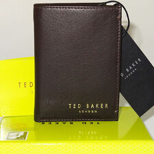 TED BAKER Wallet/card holder Genuine Leather Brand NEW mens in Gift BOX!!!