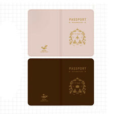 Hot Simple Skin PVC Passport Cover Holder ID Card Protector Case