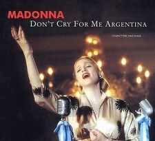 MADONNA - DON'T CRY FOR ME ARGENTINA (CD MAXI SINGLE, 1997)