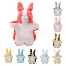 Soft Plush Rabbit Hand Puppets Preschool Learning Kids Pretend Play Finger Toys