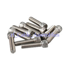 "100X kinds of Stainless Steel Hexagon Socket Head Cap Screws #8-32*3/16""/1/2"""