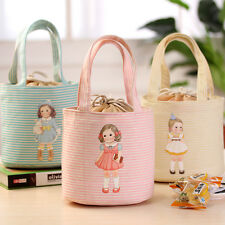Thermal Insulated Lunch Box Portable Cute Bag Picnic Pouch Storage Tote Cooler