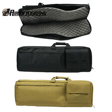 "1X 85cm/33"" Padded Rifle Gun Case Bag Tactical Hunting Shotgun Backpack Hand Bag"