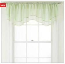 NEW MarthaWindow™ Airy Sheer Ascot Valance Window Treatment