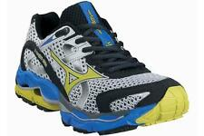 Mizuno Wave Enigma 2 Men's Running Shoes US 8.5, White/Blue/Yellow, 8KN-21843