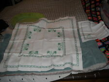 Nice Hand Embroidered Linen Tablecloth HI-141