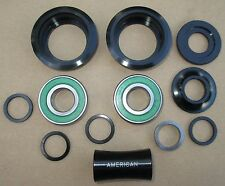 BB Set For 3 piece BMX cranks Fits both American and Mid style BB shells 19/22mm