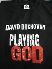 PLAYING GOD David Duchovny OFFICIAL Movie T-Shirt Blk XL/1997