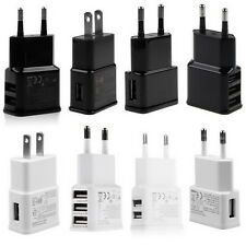 2A 5V 1/2/3-Port USB Wall Adapter Charger US/EU Plug For Samsung S4 5 6 iPhone Q