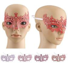 Crystal Rhinestone Sexy Lace Venetian Masquerade Eye Mask Fancy Costume Party #A